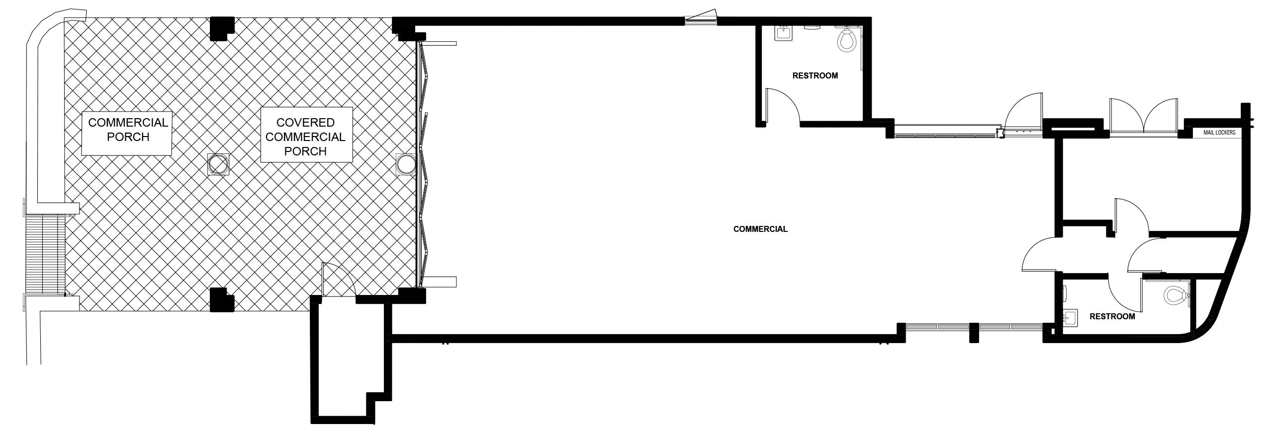 Commercial Space floor plan