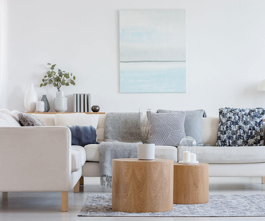 Santa Barbara apartments living room